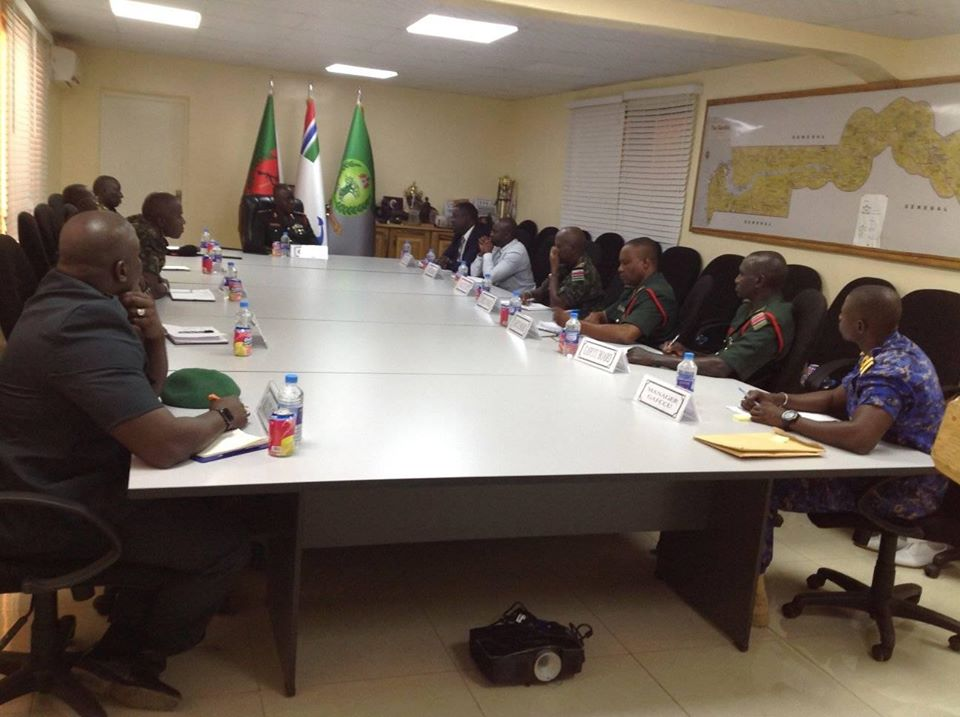 NACCUG Management Team & GAFCCU Meeting at Defence Headquarters