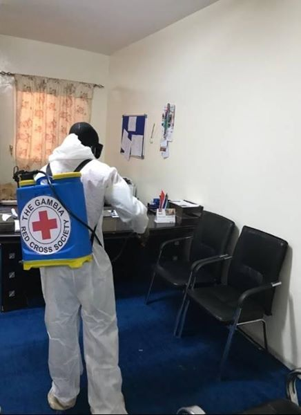 Fumigation of Naccug Premises