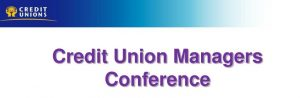 CU Managers Conference