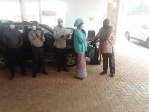 NACCUG Family bid Farewell to Vivian Malu.