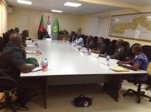 NACCUG Management Team & GAFCCU Meeting at Defence Headquarters